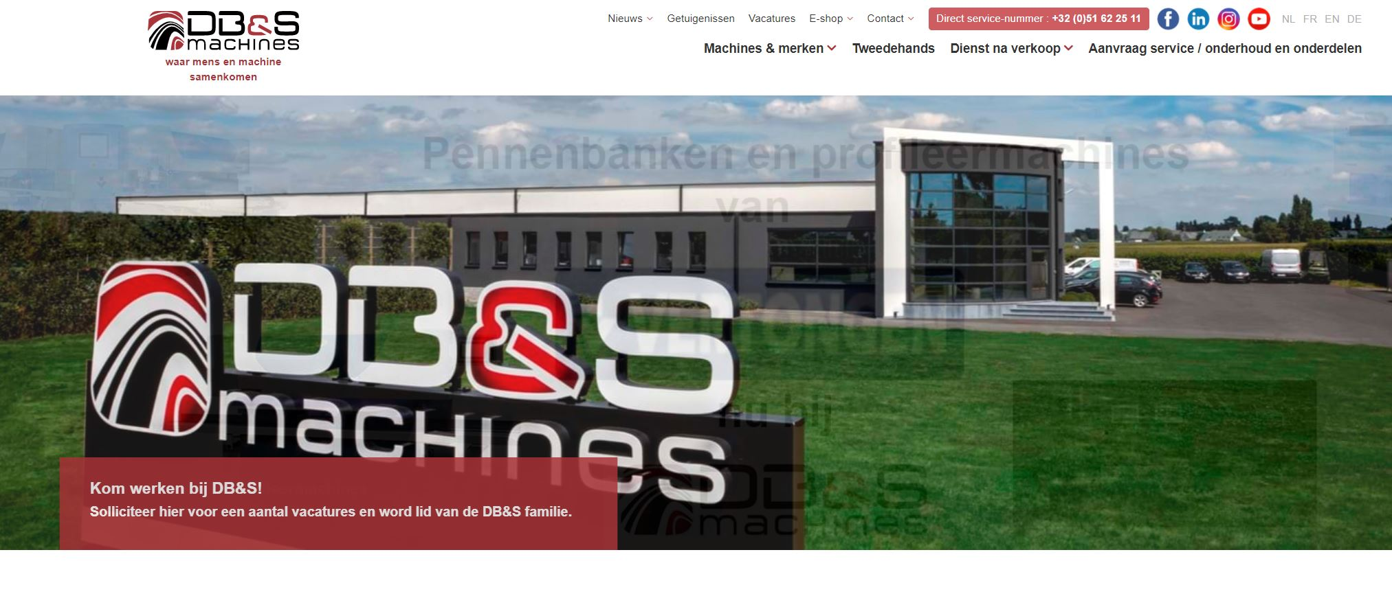 DB&S Machines Logo