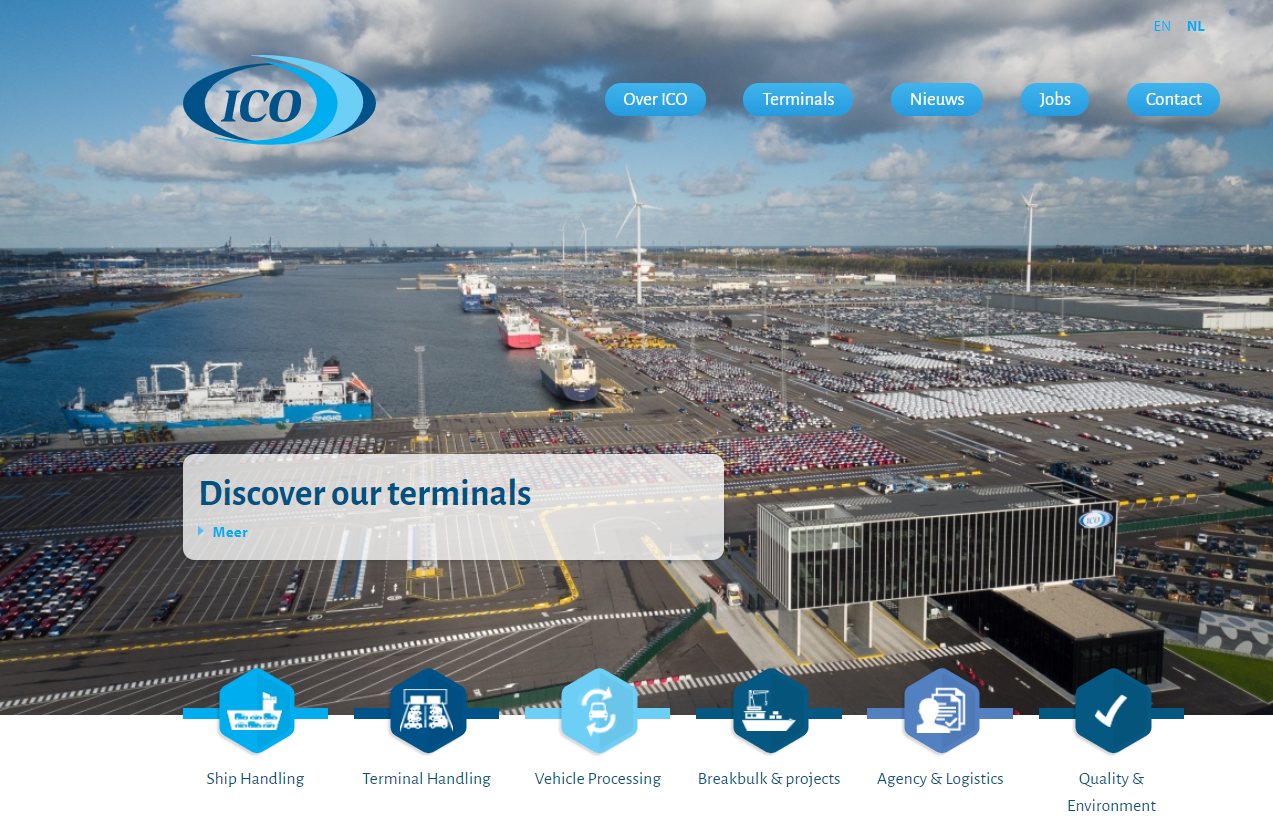 ICO Terminals Logo